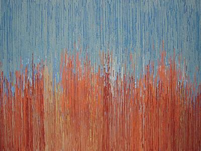 Sky Melt Print by Kate Tesch