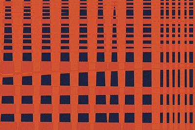 Skyscraper Print by Bonnie Bruno