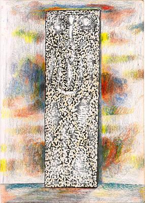 Slab Of Tablet Original by Al Goldfarb