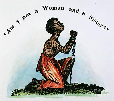 Slavery: Woman, 1832 Print by Granger
