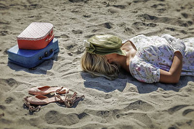 Sleeping Beauty Print by Joana Kruse