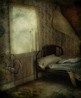 Abandoned Houses Photograph - Sleepless Prayers  by Jerry Cordeiro