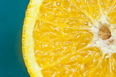 Sliced Orange Print by Bill Brennan