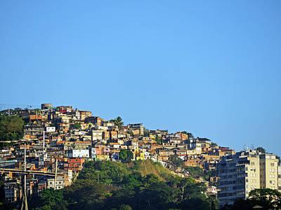Y120817 Photograph - Slum At Santa Teresa by Photo by Leonardo Martins
