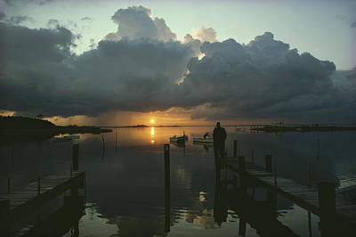 Etc. Photograph - Small Fishing Boats Return To Dock by Skip Brown
