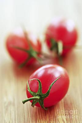 Tomato Photograph - Small Tomatoes by Elena Elisseeva