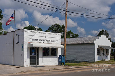 Small Town Post Office Print by Will & Deni McIntyre