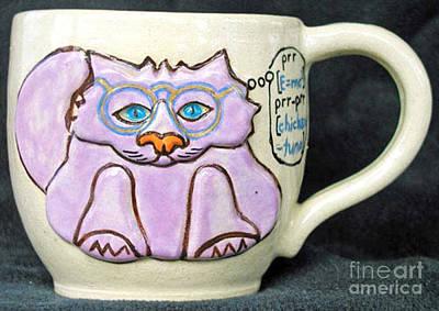 Smart Kitty Mug Original by Joyce Jackson