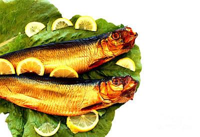 Smoked Fish Print by Soultana Koleska