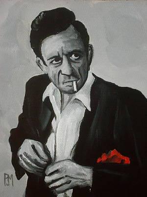 Smokin Johnny Original by Pete Maier