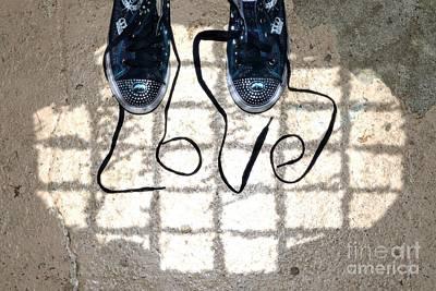 Sneaker Photograph - Sneaker Love 1 by Paul Ward