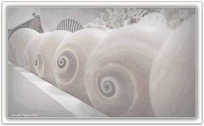 Snow Babies Print by Danielle  Parent