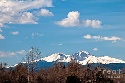 Snow-capped Mountain Majesties Print by Harry Strharsky
