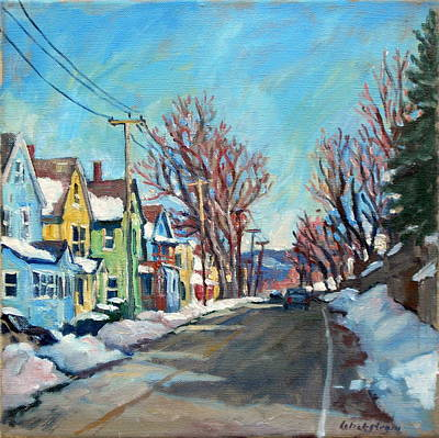 Snow Shine Berkshires Original by Thor Wickstrom