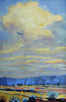 Soaring Painting - Soaring by Donald Maier