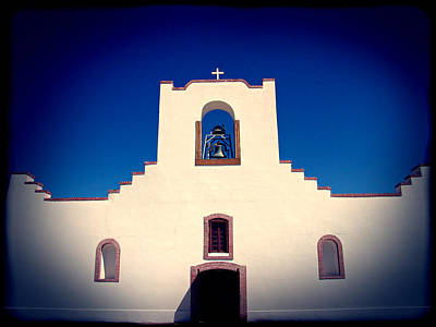 Mission Photograph - Socorro Mission Texas by Kurt Van Wagner