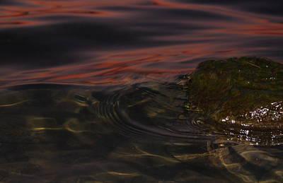 Cardiff Photograph - Soft Lit Sunset Rock by Geraint Rowland