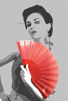 Kimono Photograph - Sola by Naxart Studio