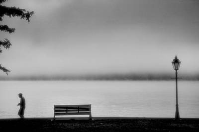 Solitary Man Print by Steven Ainsworth