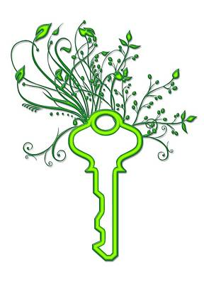Solving Green Issues, Conceptual Image Print by Victor Habbick Visions