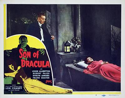 Son Of Dracula, Lon Chaney Jr., Louise Print by Everett