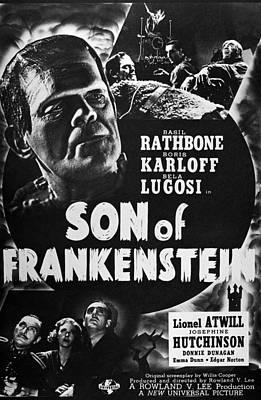 Frankenstein Photograph - Son Of Frankenstein, 1939 by Granger