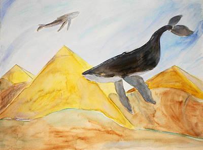 Atlantis Painting - Songs Of Atlantis by KD Martel