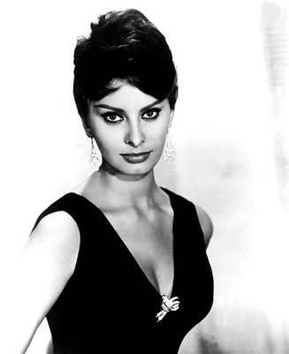 Sophia Loren, 1960 Print by Everett