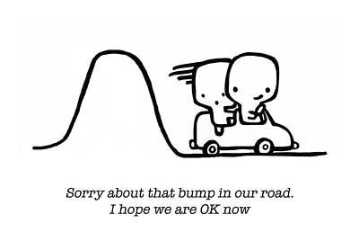 Sorry Print by Leanne Wilkes