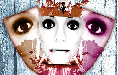 Surreal Mixed Media - Soul Vulcano by Jenn Bodro