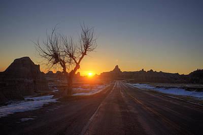 South Dakota Badlands Print by Mark Duffy