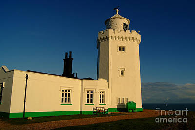 South Foreland Lighthouse Print by Serena Bowles