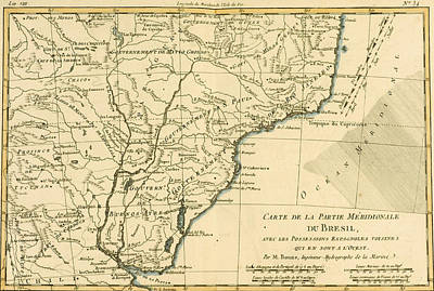 Southern Brazil Print by Guillaume Raynal