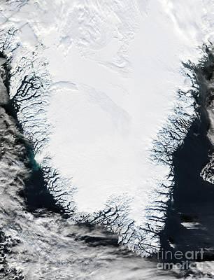 Southern Greenland Print by NASA / Science Source