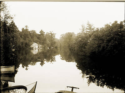 Southington Reservoir Original by Jan W Faul