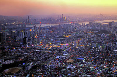 Seoul Photograph - Southside Of Seoul by Thomas Ruecker