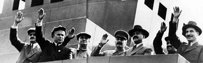 Nikita Photograph - Soviet Leaders Nikolay Shvernik, Nikita by Everett