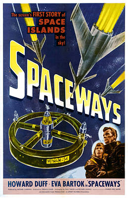 Spaceways, Eva Bartok, Howard Duff Print by Everett