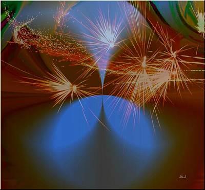 Sparkled Print by Jan Steadman-Jackson