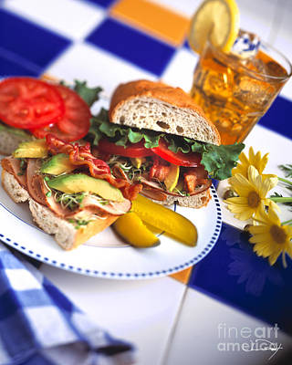 Avacados Photograph - Special Sandwich by Vance Fox