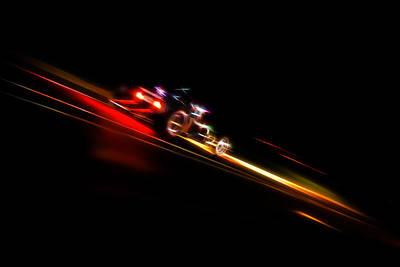 Aotearoa Photograph - Speeding Hot Rod by Phil 'motography' Clark