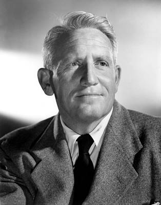 Spencer Tracy, 1940s Print by Everett