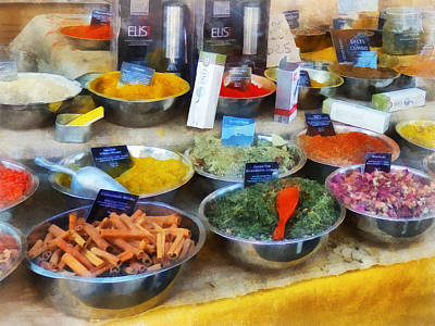 Fair Photograph - Spice Stand by Susan Savad