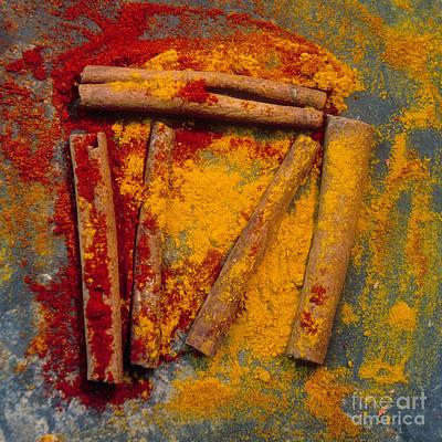 Nourishment Photograph - Spices by Bernard Jaubert