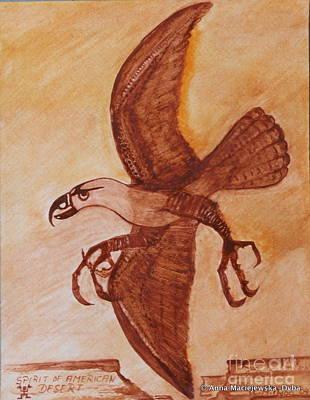 Spirit Of American Desert Print by Anna Folkartanna Maciejewska-Dyba