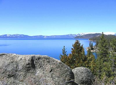Photograph - Splendid Lake Tahoe by Will Borden