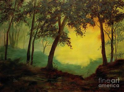Splendid Solitude Print by Vic  Mastis