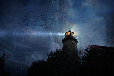 Lighthouse Photograph - Spotlight by Emily Stauring