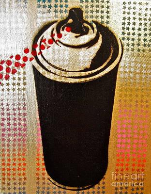 Spray Can Print by Tom Evans