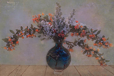 Abstract Realism Digital Art - Spring Bouquet 4 by Jeff Burgess